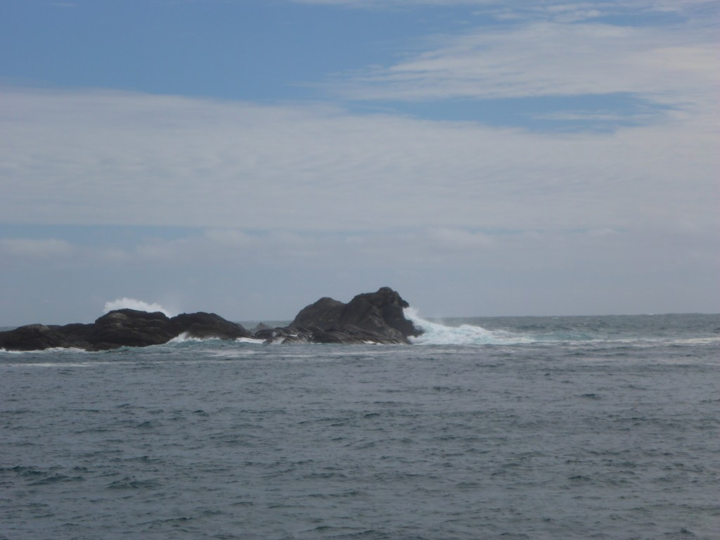 Open sea , 16km from the Head of the Sound