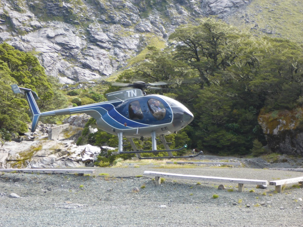 As ever in New Zealand ,its possible to fly to Milford Sound rather than drive or take the bus.