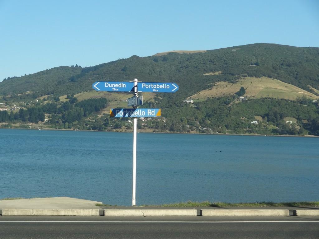 Otago Peninsula near Portabello