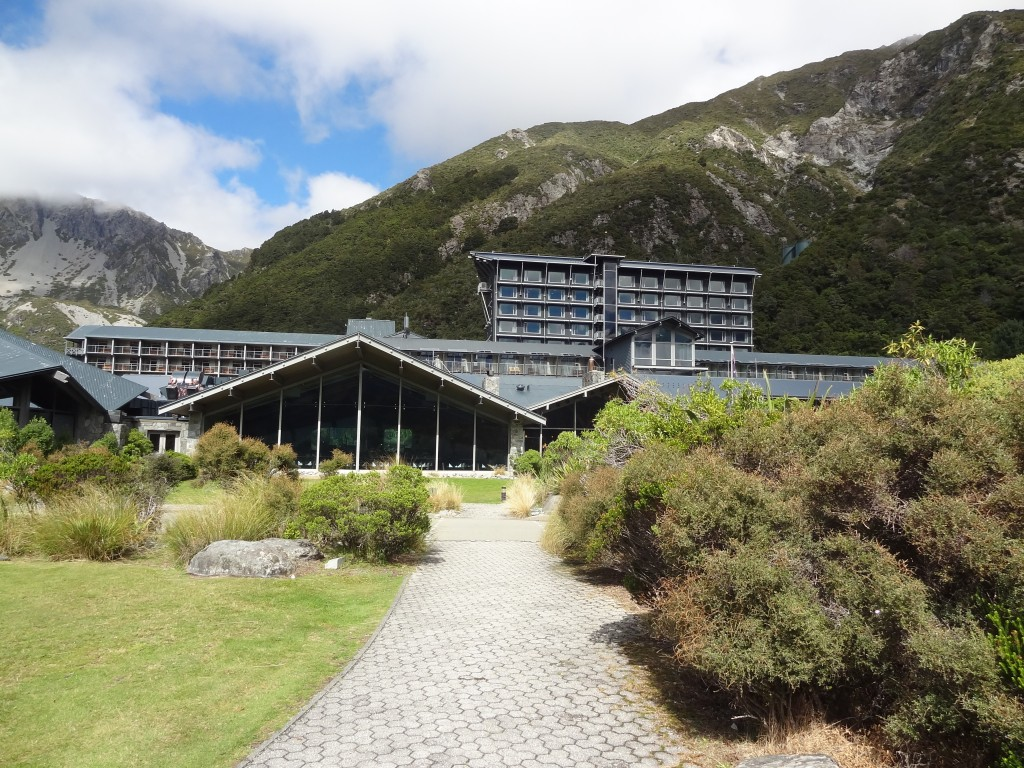 The Hermitage Hotel - centre of everything Mt Cook