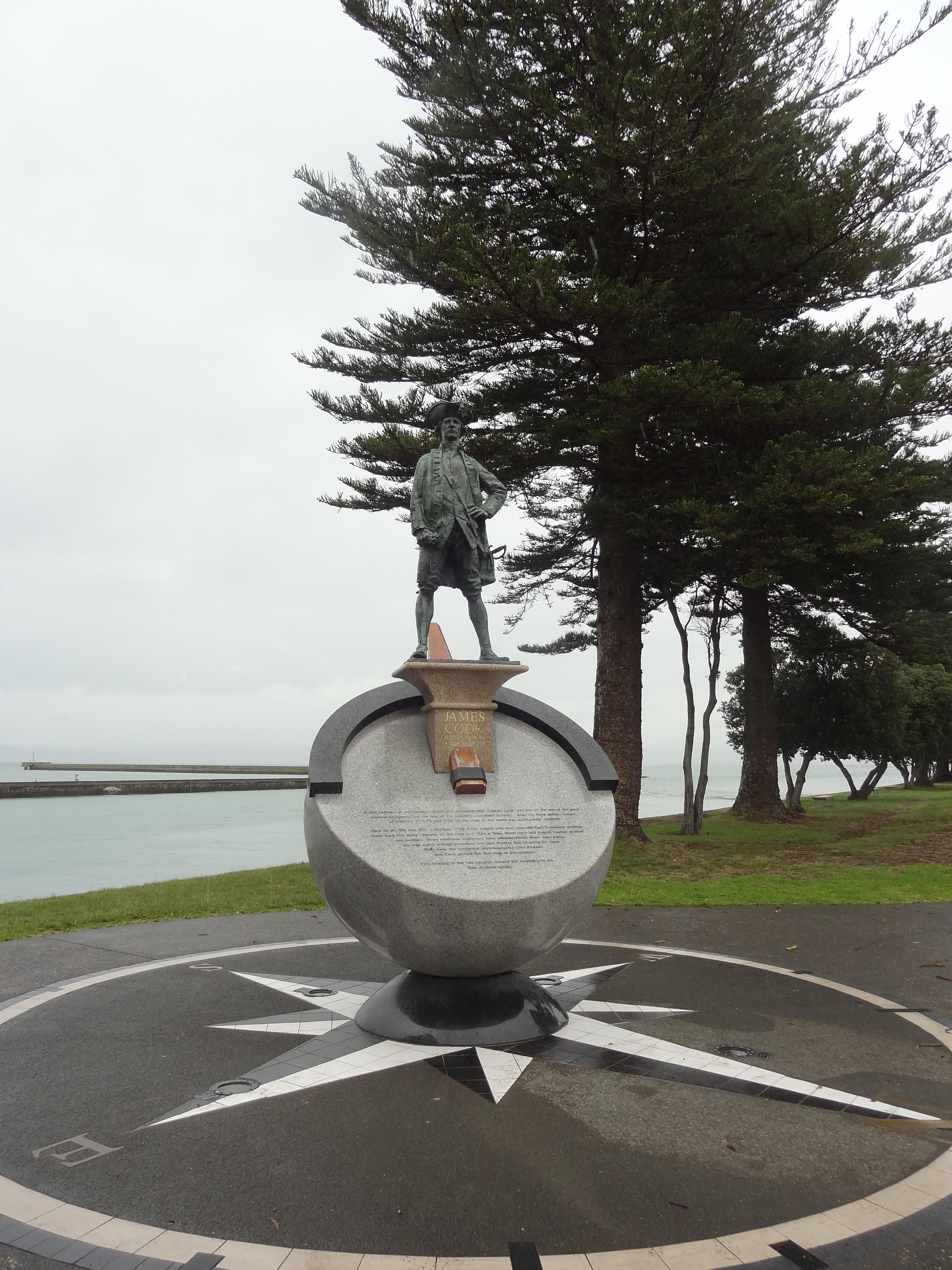 Memorial to Captain James Cook