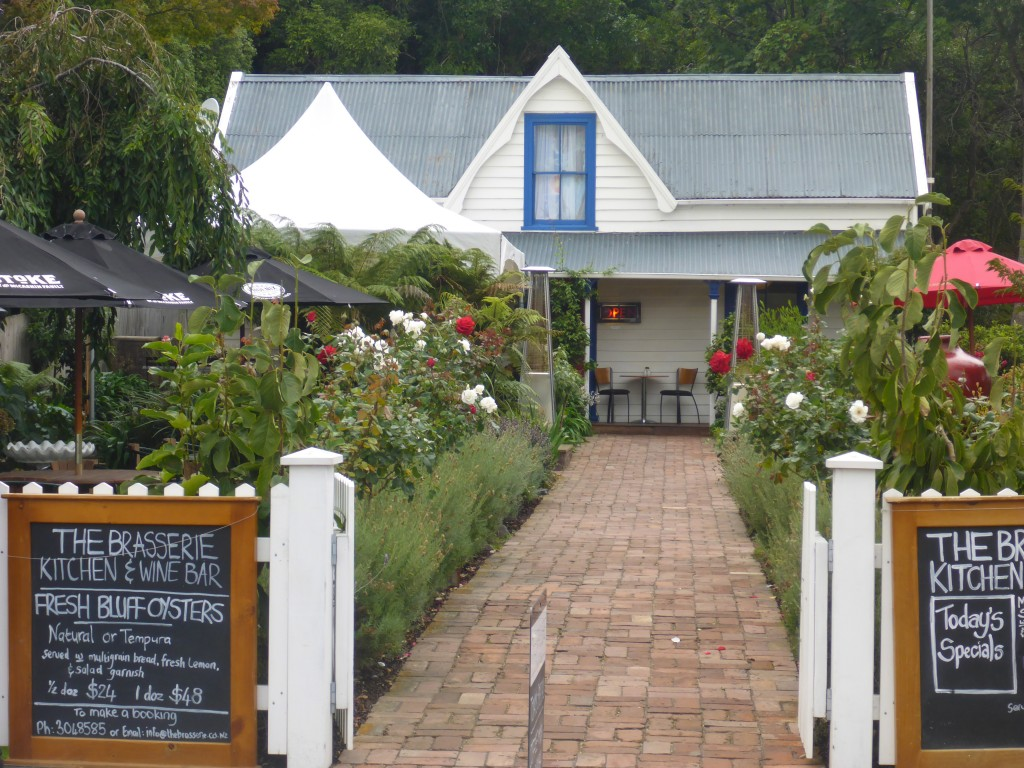 One of Akaroa's many nice restaurants